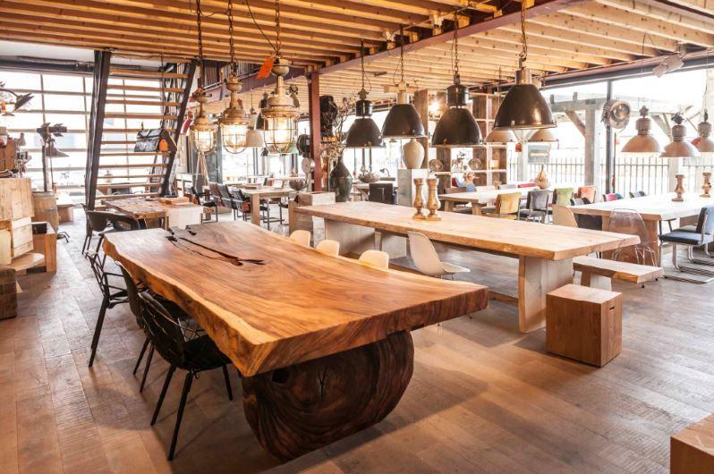 Grote Houten Tafels : Afbeeldingsresultaat voor houten tafels dok 40 nr 53 pinterest