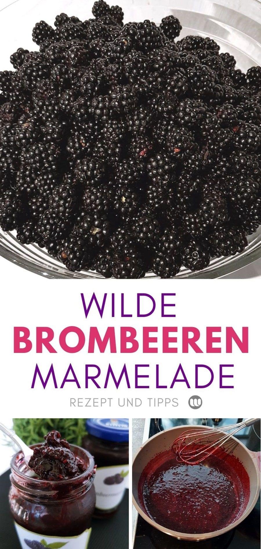 Wilde Brombeeren pflücken: Tipps & Rezept für Brombeermarmelade #brombeerenrezepte