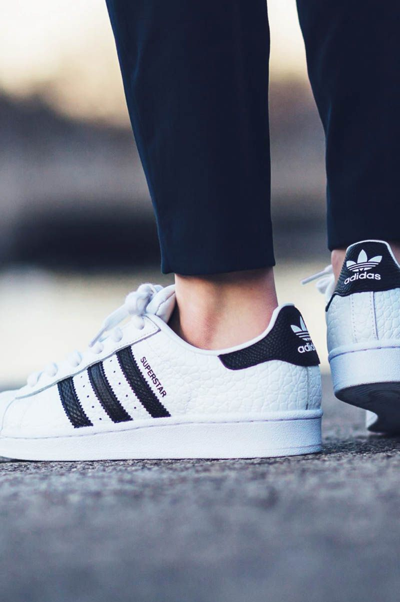 ADIDAS Superstar Animal White & Core Black