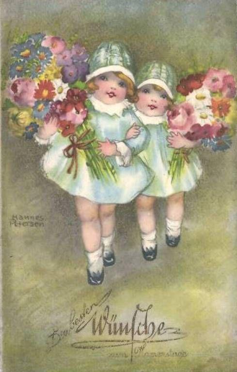 Hannes Petersen- (German illustrator, 1885-1960)
