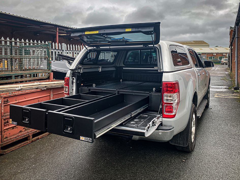 Pickup Truck Accessories Truck Bed Organiser Van Racking Systems Drawers Bed Slides Dog Box Pickup Truck Accessories Truck Storage Pickup Accessories
