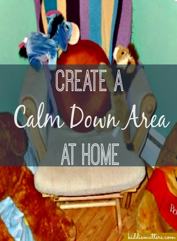 How To Create A Calm Down Area At Home