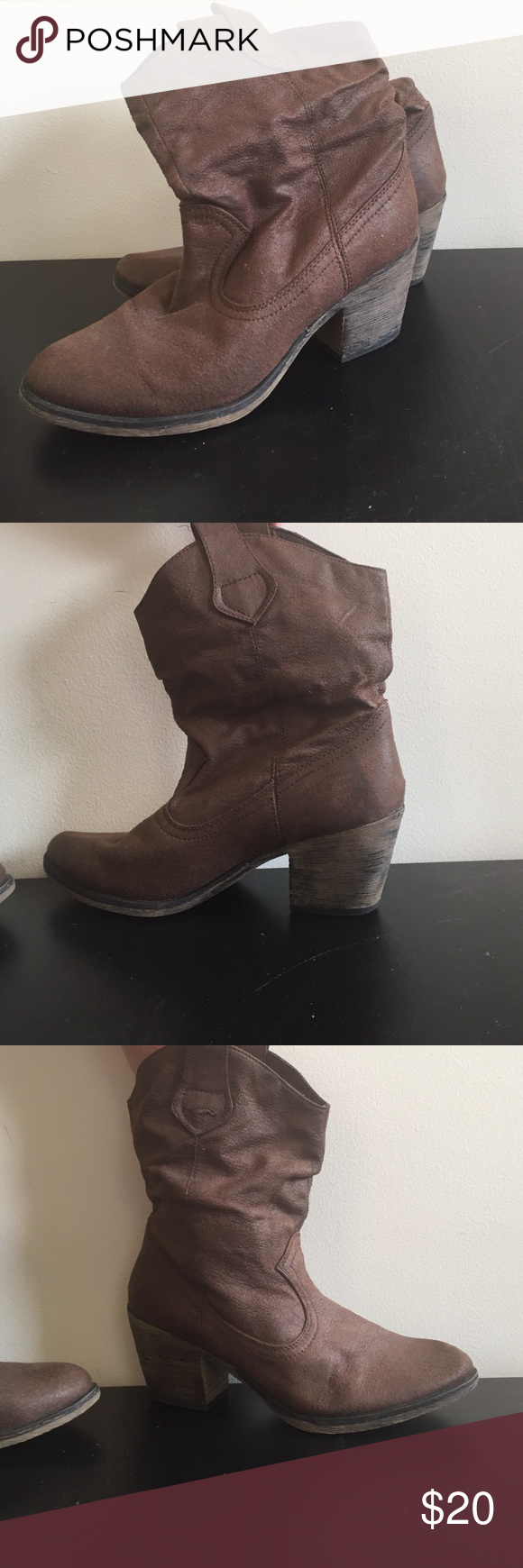Rocket Dog cowgirl boots Comfortable short cowgirl boots Rocket Dog Shoes Ankle Boots & Booties