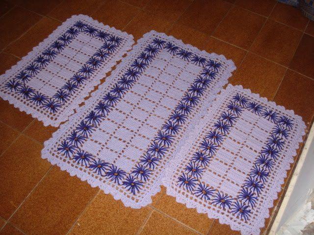 Artesanato Infantil Passo A Passo ~ tapete de croche para cozinha Pesquisa Google Artesanato e Faça voc u00ea mesmo Pinterest