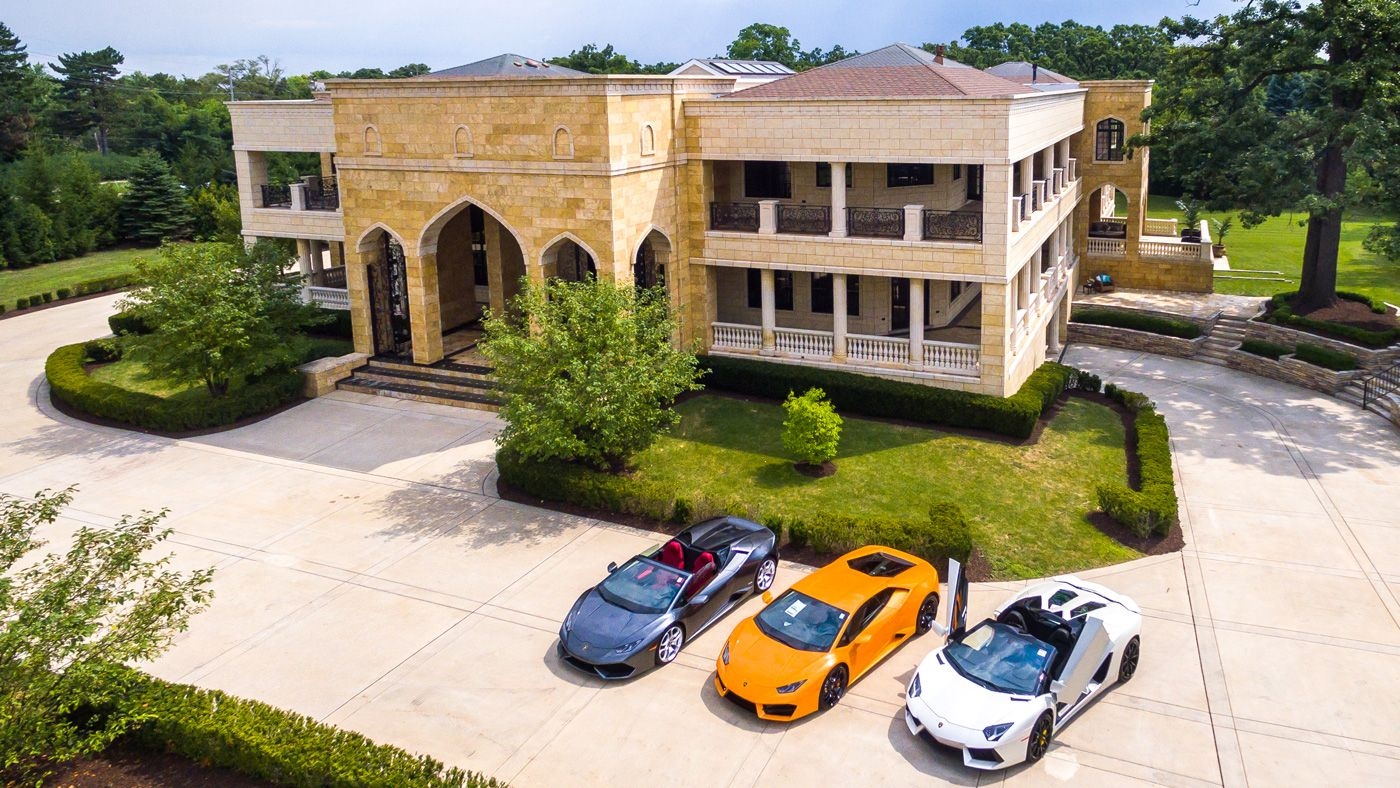 Capacity 22 Cars Mega mansions for sale, Mansions