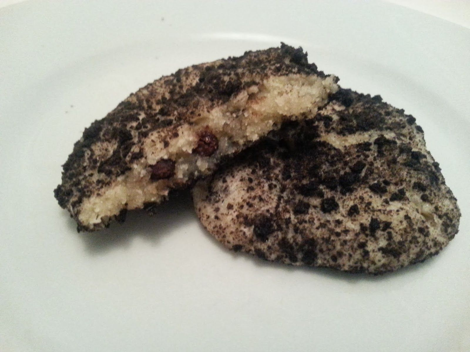 Veganeren: Oreo cheesecake cookies