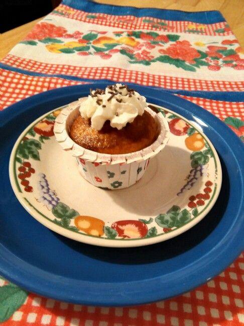 Muffins en blanco y negro