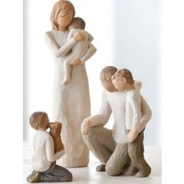 Willow Tree Blended Family Wedding Cake Toppers from www ...