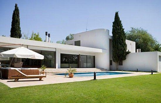 Fachadas de casas modernas de una planta dise o de interiores ideas para el hogar - Casas de diseno de una planta ...
