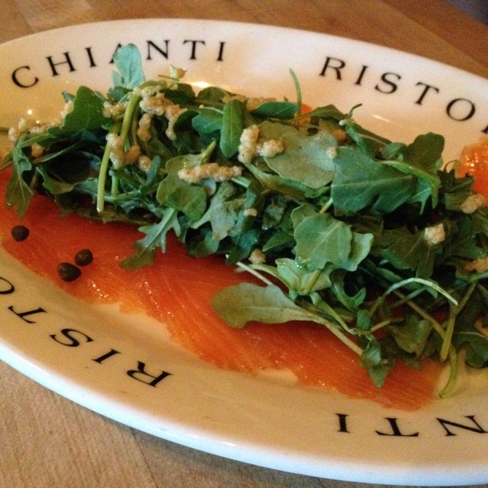 Salmone Affumicato at Chianti Il Ristorante