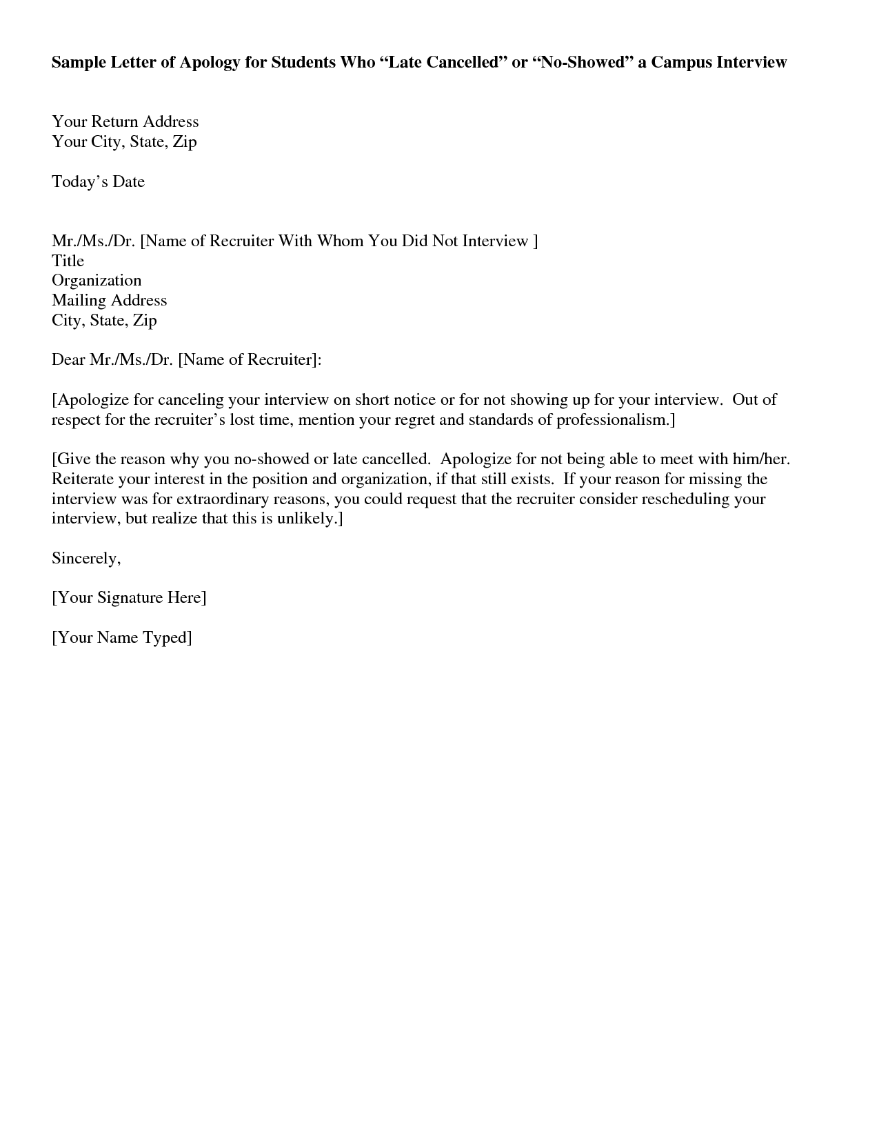Business Letter Sample  Sample Letter Of Interest