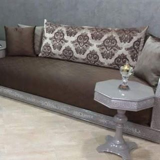 pin by om lina on salon marocain pinterest decor and salons. Black Bedroom Furniture Sets. Home Design Ideas