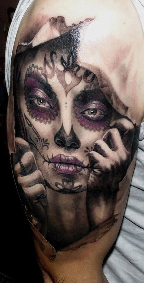 Skull Candy Tattoo