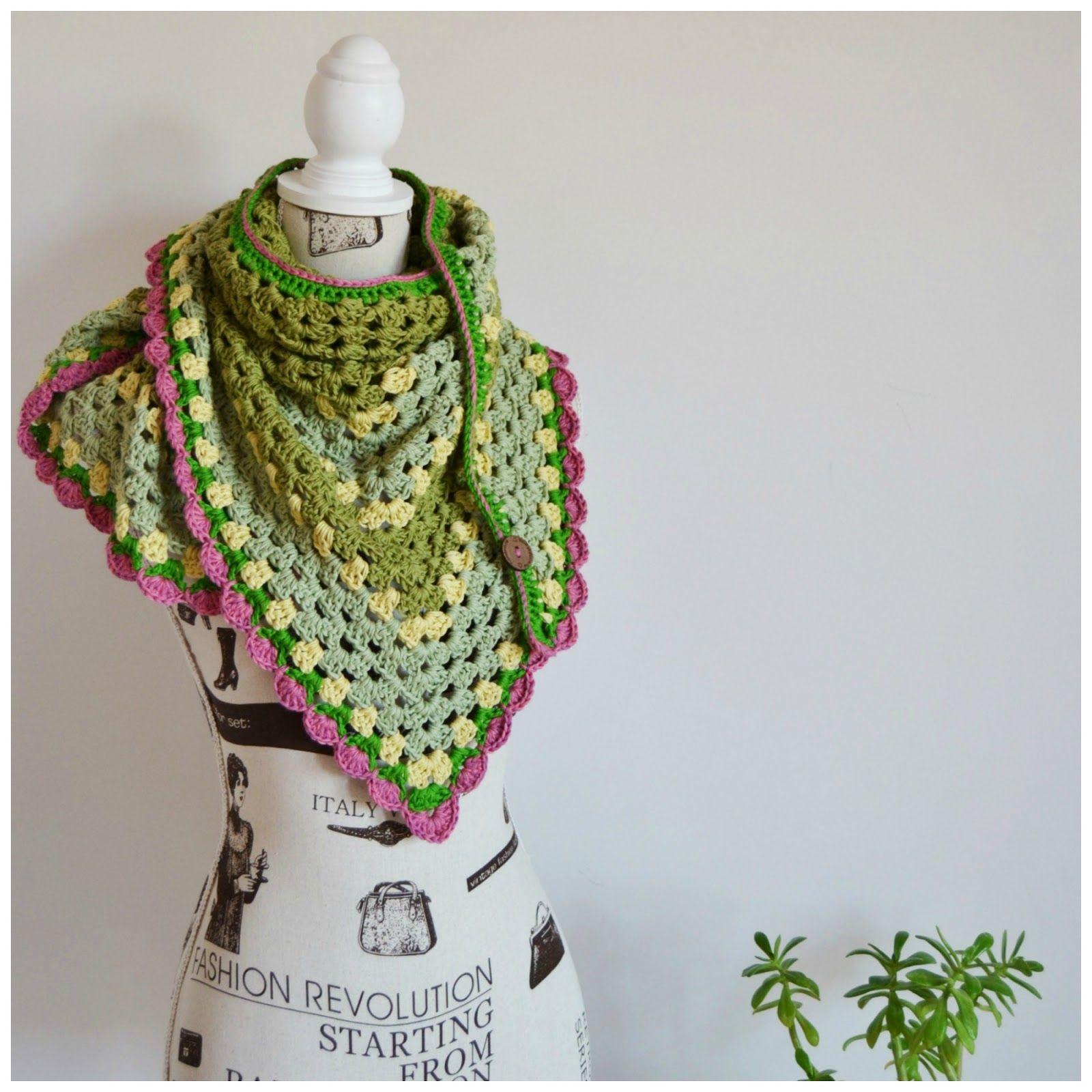 my world of wool: crochet shawl and Anni B Sweet - Chasing Illusions ...