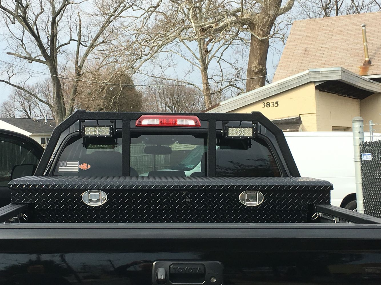 Headache rack for 2014 Tundra | Projects to Try ...