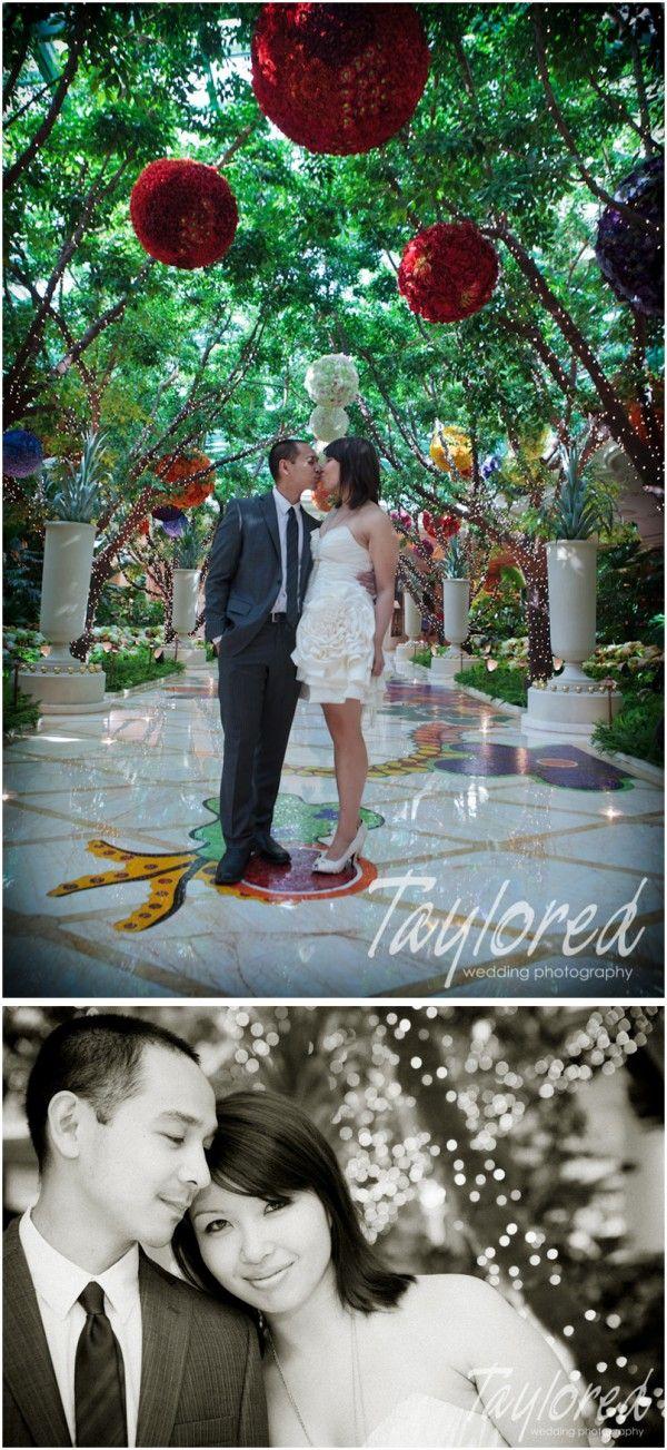 Super Tiny Secret Ceremony {Wynn Las Vegas | Vegas wedding venue. Casino wedding. Las vegas weddings