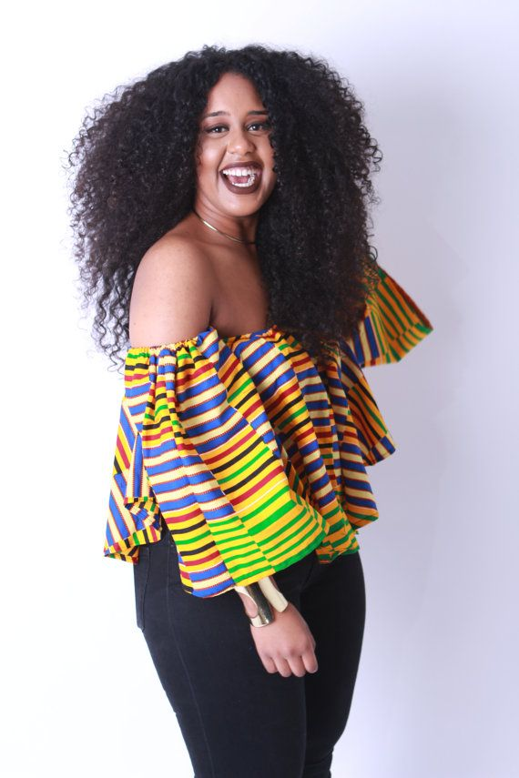 2534ce053 Off Shoulder Blouse Ankara African Print | stitch style-it! in 2019 ...
