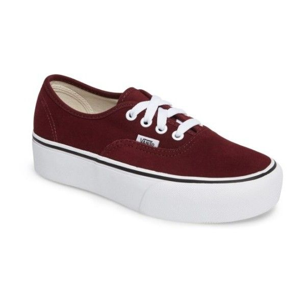 dcd5f248cc4062 Women s Vans  Authentic  Platform Sneaker ( 55) ❤ liked on Polyvore  featuring shoes