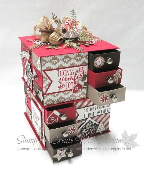Candy Cane Lane DSP Advent Matchbox Tower 2 - Class