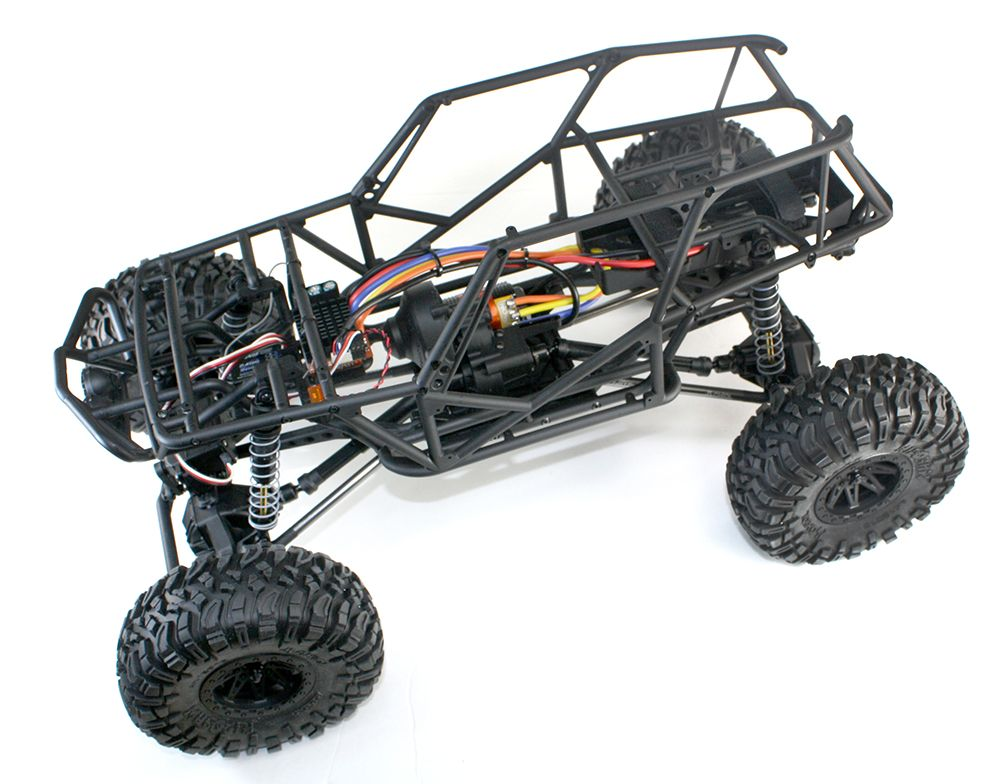 "Our Axial Wraith ""online build"" is in the home stretch..."