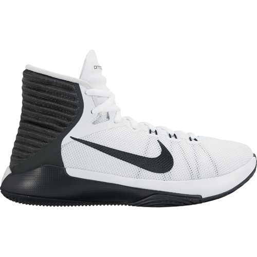 Nike Women s Prime Hype DF 2016 Basketball Shoes  (White Black Anthracite Pure Platinum 644b966cca