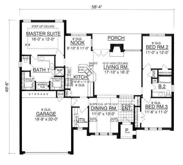 The Paladian 7954 3 Bedrooms and 2 5 Baths