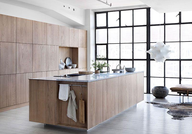Stunning Modern Oak Kitchens By Ballingslov With Images Modern
