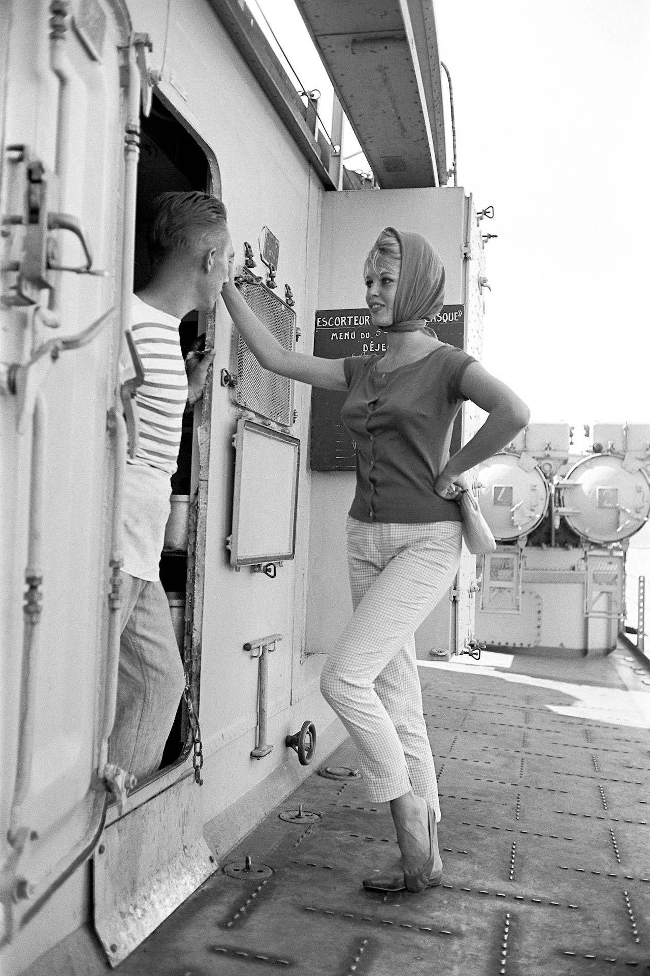 #phs.007415 Photo BRIGITTE BARDOT /& FRITZ LANG 1963 Star