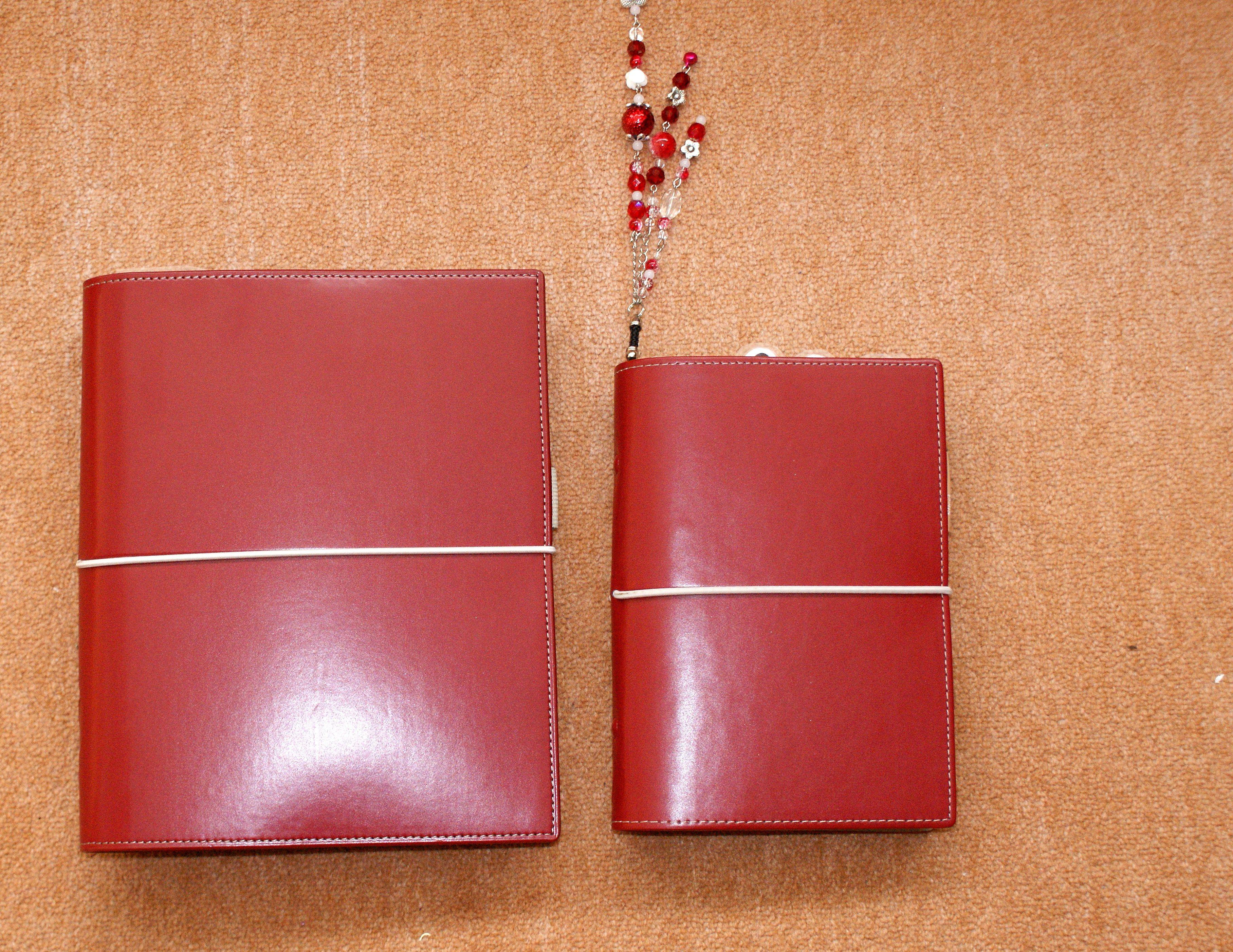 Mijn A5 Domino en mijn personal Domino Filofax