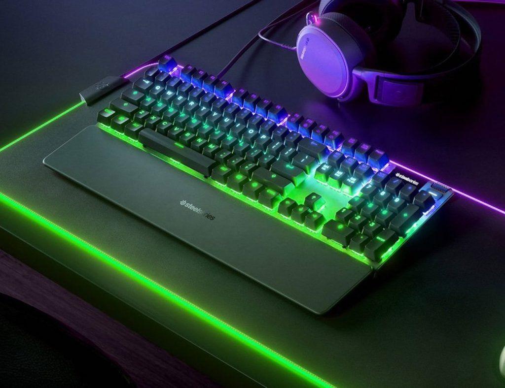 Steelseries Apex Pro Adjustable Mechanical Keyboard Lets You Change Each Key S Sensitivity Keyboard Steelseries Gaming Gear