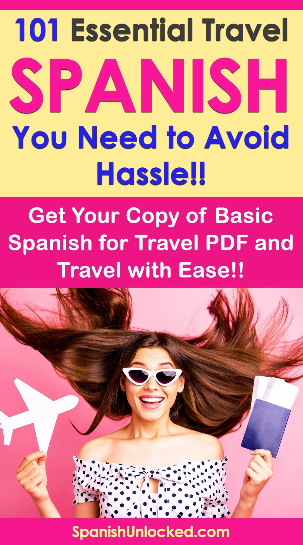 Download this free essential Spanish travel phrases guide ...