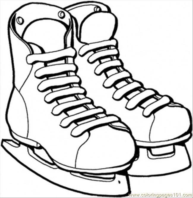 patins de gelo | Coloring pages | Pinterest