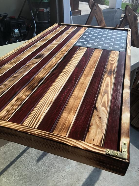 LARGE (19x36), Rustic Flag, Wood American Flag, Pallet American Flag, Wood Flag, Wooden Flag, Wood Sign, Wood Art, Wood Working #americanflag