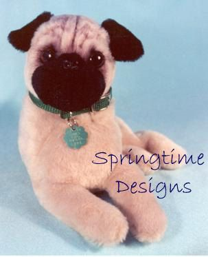Pdf Pug Sewing Pattern 12 Long Puppy Dog By Springtimedesigns