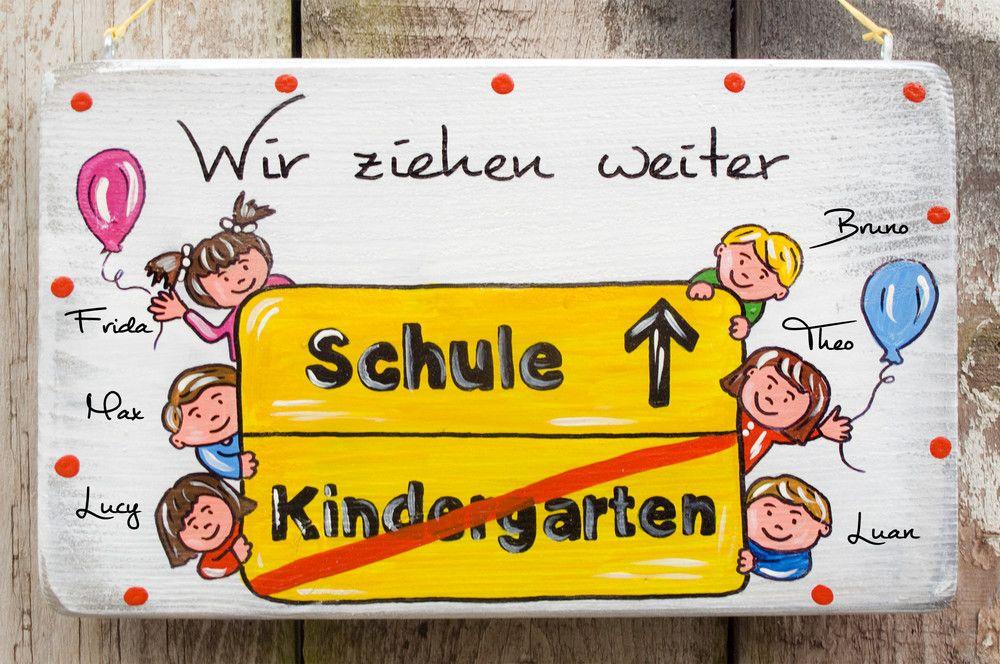 Kindergarten Abschied Abschiedsgeschenk Erzieher