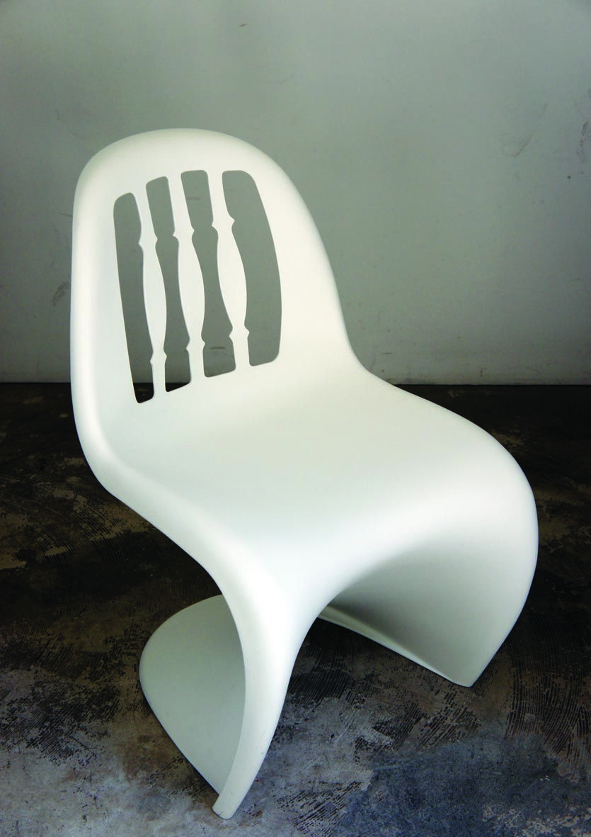 (panton Chair Recreation) Marriage Of Singapore Kopitiam Chair And Panton  Chair Great Ideas