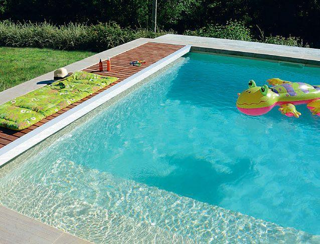 Faire soi-même une piscine en bloc béton à bancher