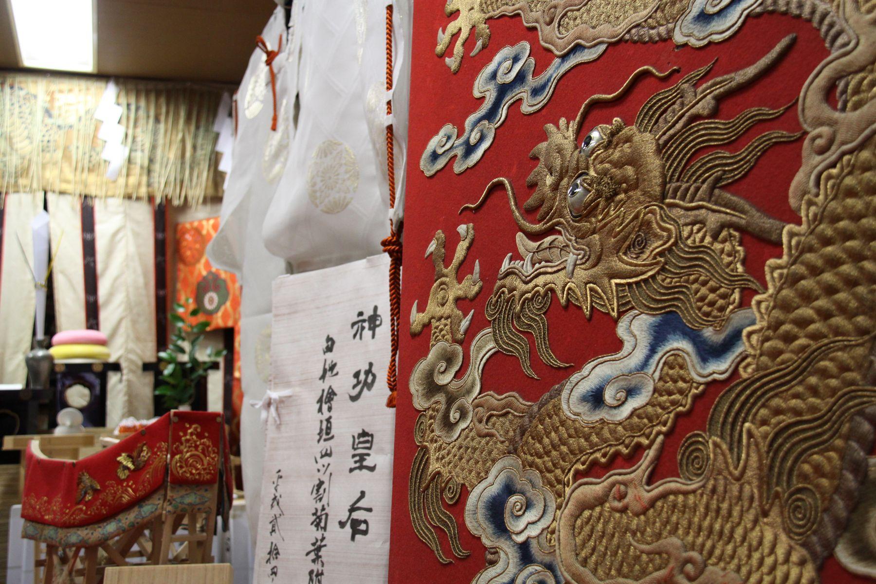 大船鉾の舟の舵の部分。龍がかっこいい。 祇園祭 京都 kyoto gion festival