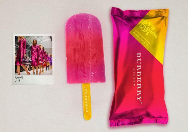 iDesignMe-S:S13 Fashion Popsicle_4 http://idesignme.eu/2013/08/ss13-fashion-popsicle/ #design #colors #moda #fashion #cool #orange #branding #amazing #ideas #graphic #burberry