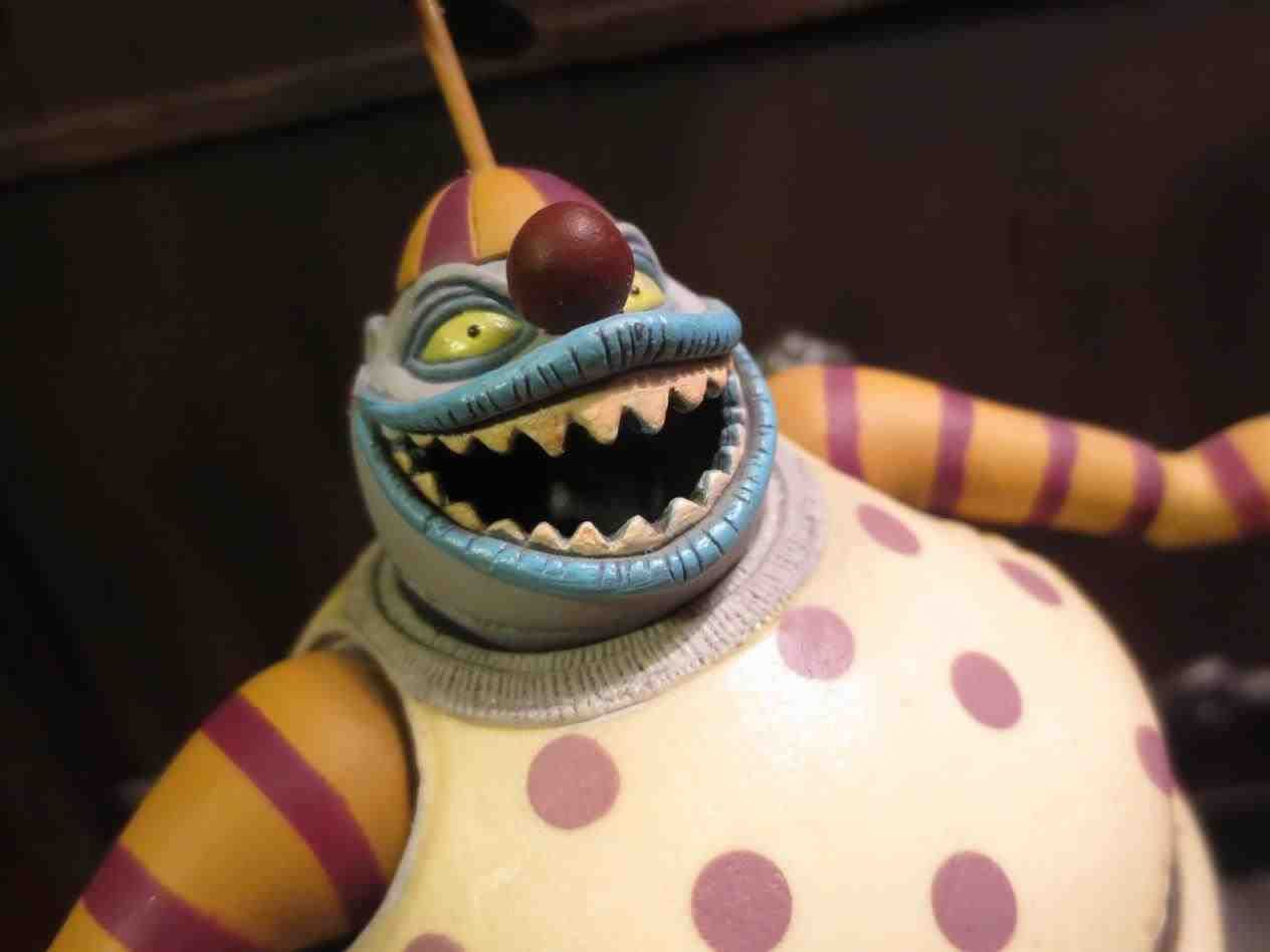 Nightmare Before Christmas Clown With A Tear Away Face.New Post Nightmare Before Christmas Clown Tear Away Face