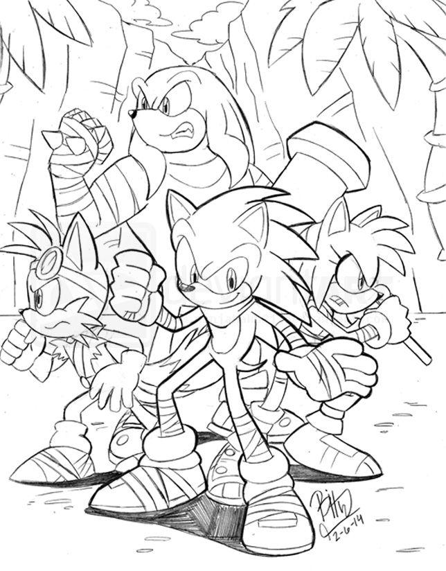 Sonic Boom cartoon sketch coming soon this fall... | RANDOM :P ...