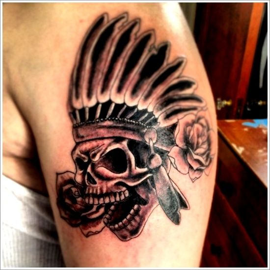 40 Traditional Native American Tattoos To Celebrate You ...