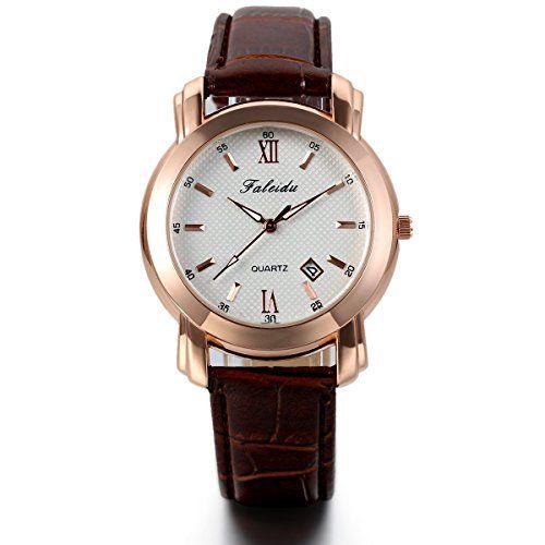 08eb87329ef7 Jewelrywe Relojes de hombre clásico de negocios
