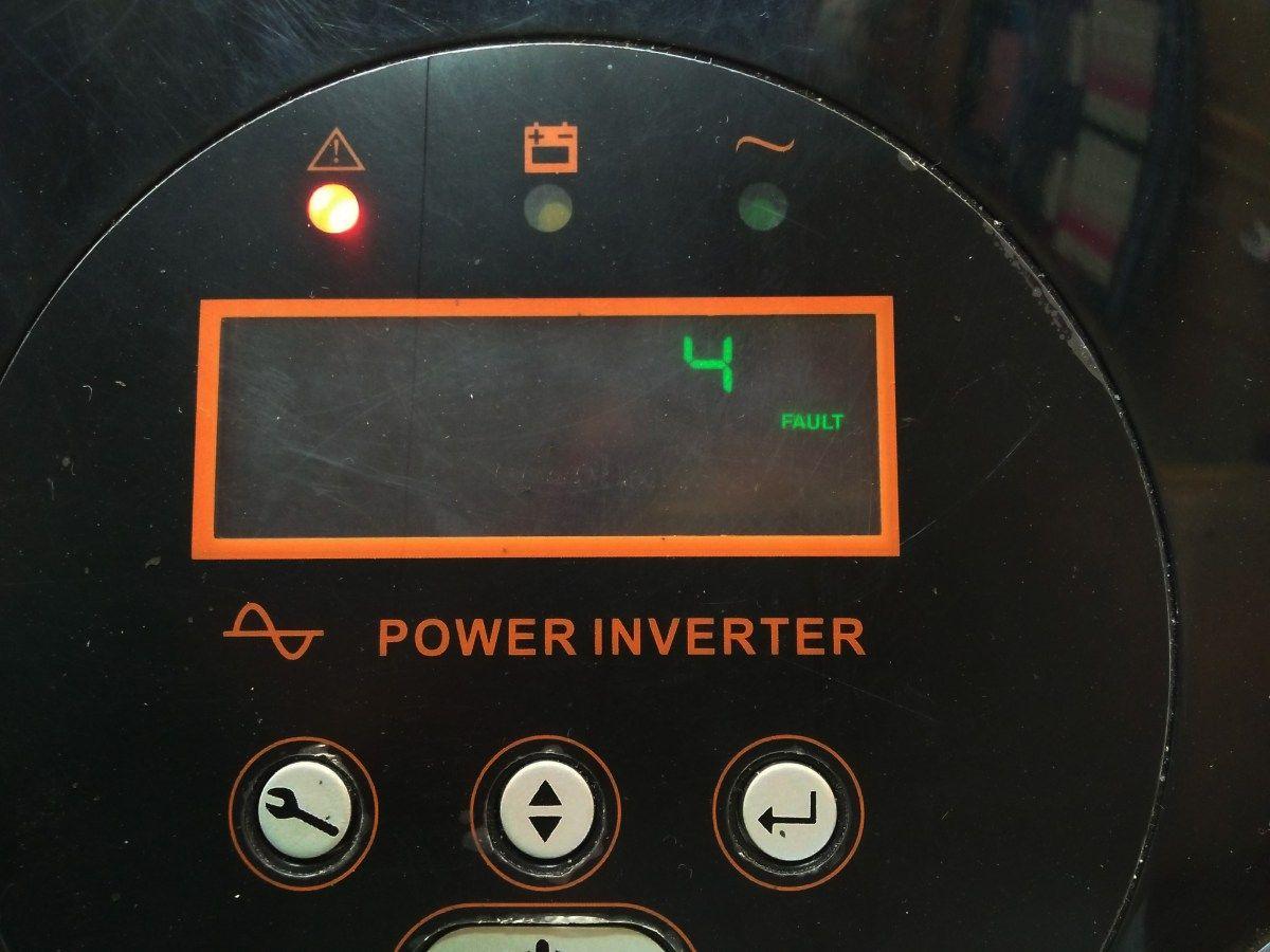 How to fix repair inverter ups fault 4/error 4   ups