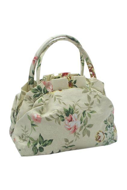 Floral Print Fine Holdall Bag