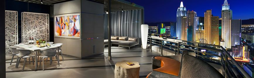 Mgm Skyline Terrace Suite Balcony  Lavish Vegas  Pinterest  Mgm Inspiration 2 Bedroom Suites Las Vegas Strip Review