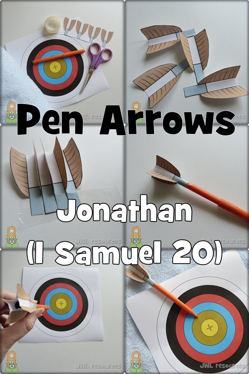 Jonathan 1 Saumel 20 Bible Crafts For Kids Sunday School