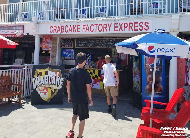 Crabcake Factory Express Ocean City MD Ocean city, Ocean