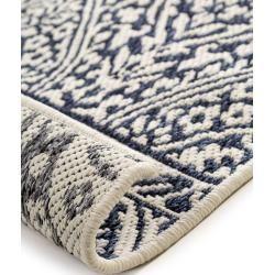 Photo of benuta reversible carpet terrazzo gray / blue 140×200 cm – modern carpet for living room benuta