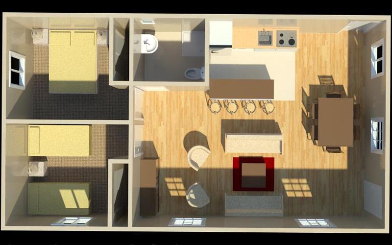 20 feet by 45 feet House Map   art tech   Pinterest   20\